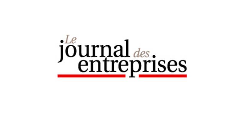 Le Journal des Entreprises en parle !
