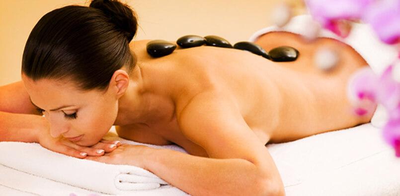 Vidéo massage aux pierres chaudes