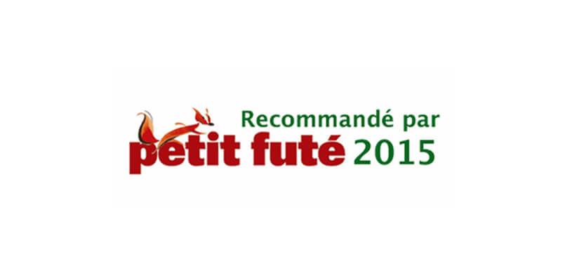TENDANCE ZEN RECOMMANDE PAR LE PETIT FUTE 2015 !!